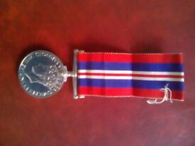 1939-1945 service medal Superb condition