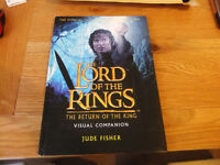 Lord Of The Rings Visual Companion Book