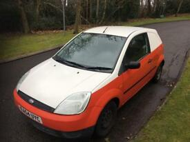 2005 54 Ford Fiesta van Tdci only 85,000 only no vat low miles