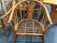 Wicker/cane chair frame