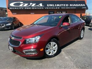 2015 Chevrolet Cruze 1LT | CAMERA | REMOTE START | NO ACCIDENTS