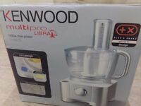 Kenwood Multipro Libra 1000 watt food processor with integral scales and all accessories