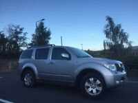 Nissan Pathfinder 2.5 dci Aventura AUTOMATIC private reg LOW mileage 7 seater immaculate 4by4