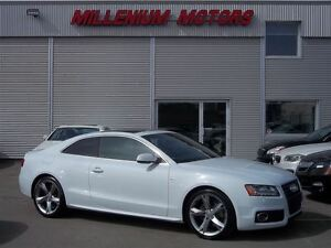 2012 Audi A5 2.0T QUATTRO / S-LINE PKG / LEATHER / SUNROOF