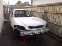 MK4 VAUXHALL ASTRA 3 DOOR ROLLING SHELL( ALSO HAVE MK4 ASTRA PARTS)