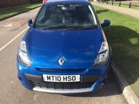 2010 RENAULT CLIO 1.2 DYNAMIQUE TOM TOM AND ONE YEAR MOT