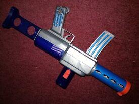 Battery disc gun