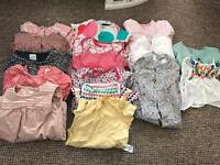 Baby girls bundle clothes 9-12 Months