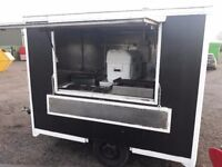 10ft Catering trailer lpg equipment setup Gas griddle bain marie chip fryer and kebab machine