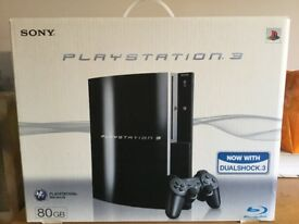 PS 3 console plus extras