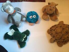 Teddys individually £2 each