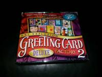 Greeting card deluxe