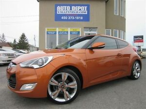 2014 Hyundai Veloster TECH PACK + NAVIGATION, Toit Pano, Mags, C
