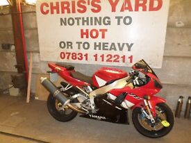YAMAHA R1 2000 ONLY 10,000 MILES