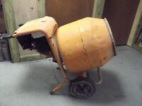 BELLE 150 PETROL CEMENT MIXER HONDA GX120 ENGINE GOOD CONDITION NO STAND