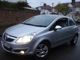 !!! VAUXHALL CORSA 1.2 CLUB 57 PLATE NEWER SHAPE !!! LOW MILEAGE ONLY 59,000 !!! 3 DOOR HATCHBACK !