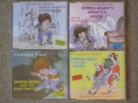 'Horrid Henry' Audiobooks by Francesca Simon, read by Miranda Richardson, 4 CDs