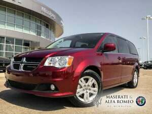 2018 Dodge Grand Caravan Leather, Heated Seats & Bluetooth