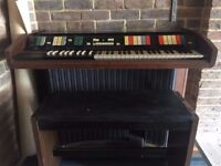 FREE Hammond Piper Autochord 1970's Home Organ