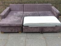 Corner sofa bed and Single sofa bed from John Lewis ,bargain £199 only