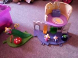 Ben and holly playsets