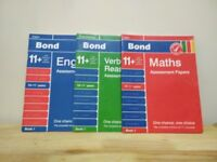 Bond 11+ pack of 3 Books 10-11 yrs