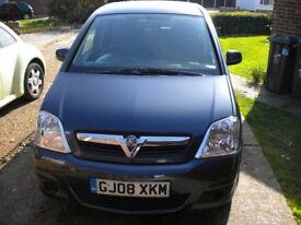 2008 Vauxhall Meriva Breeze 1.6i Easytronic MPV.