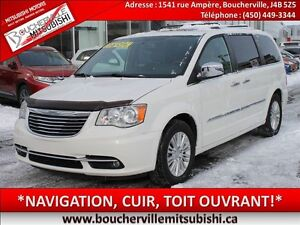 2013 Chrysler Town & Country LIMITED*GPS, CUIR, TOIT OUVRANT*