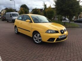 2007 (57) Seat Ibiza 1.2 12v Reference Sport 3 Dr Petrol Manual Gearbox Only 78000 Miles Full Mot