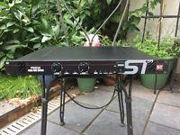 Soundtech PS802 1U stereo power amp (400W at 4 ohm/800W bridged)