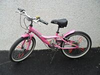 "girls bike 20"" - jamis capri - 6 speed - lightweight high spec bicycle"