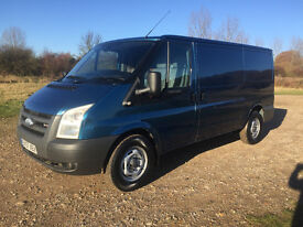 FORD TRANSIT 2.2 TDCI 2007 57 REG - MWB / LOW ROOF - TWIN SIDE LOADING DOORS - NO VAT!!!!!!!!!!!!!!!