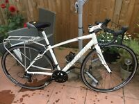 Specialized Dolce Sport Equipped women's 2014 road bike size 54 white purple aluminium carbon
