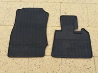 RUBBER MATS (FRONT) for BMW X3 (2011-17)