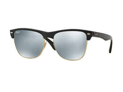 Ray-Ban Sonnenbrille RB4175 CLUBMASTER OVERSIZED 877/30 Schwarz silber