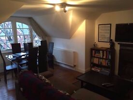 Large furnished 2 bedroom flat + study to rent on Amesbury Av