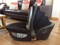 Britax Baby Safe Sleeper Lie Down Car Seat