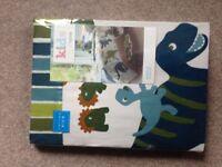 Brand new Dinosaur duvet cover & rug