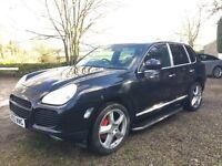 PORSCHE CAYENNE TURBO AUTO BLACK 4x4 Tiptronic S AWD
