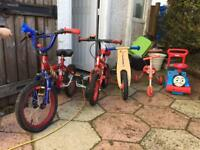 Kids outdoor ride ons