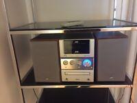 JVC stereo system CD/DAB