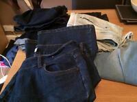 Denim items size 16