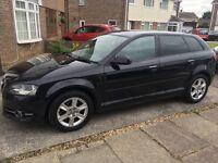Black Audi A3 tdi for sale