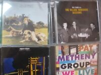 Rock,pop,jazz and more CD's
