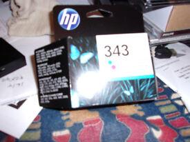 HP 343 tri colour ink cartridge