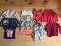 Girls age 2-3 eleven piece bundle shorts skirts