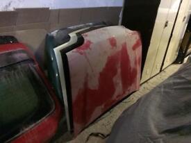 Fiesta Mk3 bonnet Xr2i