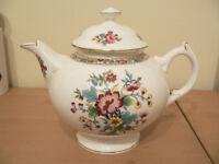 good size coalport ming rose fine bone china teapot [new old stock] make nice christmas present