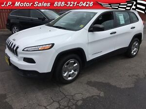 2015 Jeep Cherokee Sport, Automatic, Bluetooth, Only 51, 000km