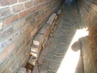 30 Victorian Salvaged Bricks
